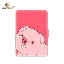 Mimiatrend 3D Cartoon Pink Pig PU Cover for Amazon Kindle Paperwhite 1 2 3 449 558 Case 6 inch Ebook Tablet Accessories Gifts(China)