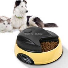 4 meal with LCD display automatic  pet feeder  automatic feeder  bowl for dogs correas para perros