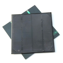 High Efficiency! 2W 6V 330MA Solar Cell Monocrystalline Solar Panel Solar Module DIY Solar Charger115*115*3mm Free Shipping