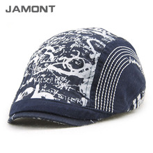 [JAMONT] 2017 New Printed Cotton Beret Hats for Kids Baby Berets Z-5212()