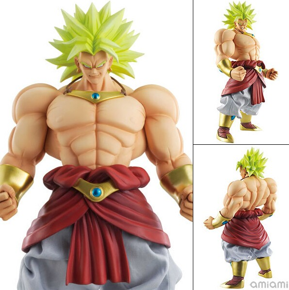 MegaHouse Dimension of Dragon Ball Broli Dragon Ball Z PVC Action Figure 25CM DOD Figuarts Collectible Model Toy DBZ Figuras<br>