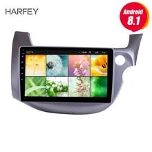 "Harfey 10.1"" Head Unit Touch Screen for 2007-2013 HONDA FIT JAZZ RHD Android 8.1 GPS Navigation Radio Bluetooth Music WiFi OBD2(China)"