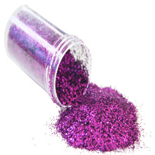 New 1 bottle Glitter purple Shining Glitter Powder DIY Decoration painting mask Sheets Tips Design Art Glitter Paillette 20g(China)
