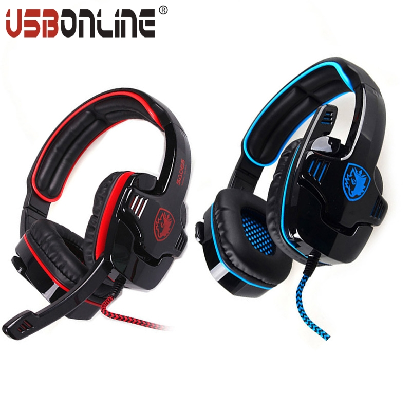 2pcs USB Gaming Headset Professional 7.1 Surround Sound Game Headphone Earphone with Microphone for PC computer Gamer<br><br>Aliexpress