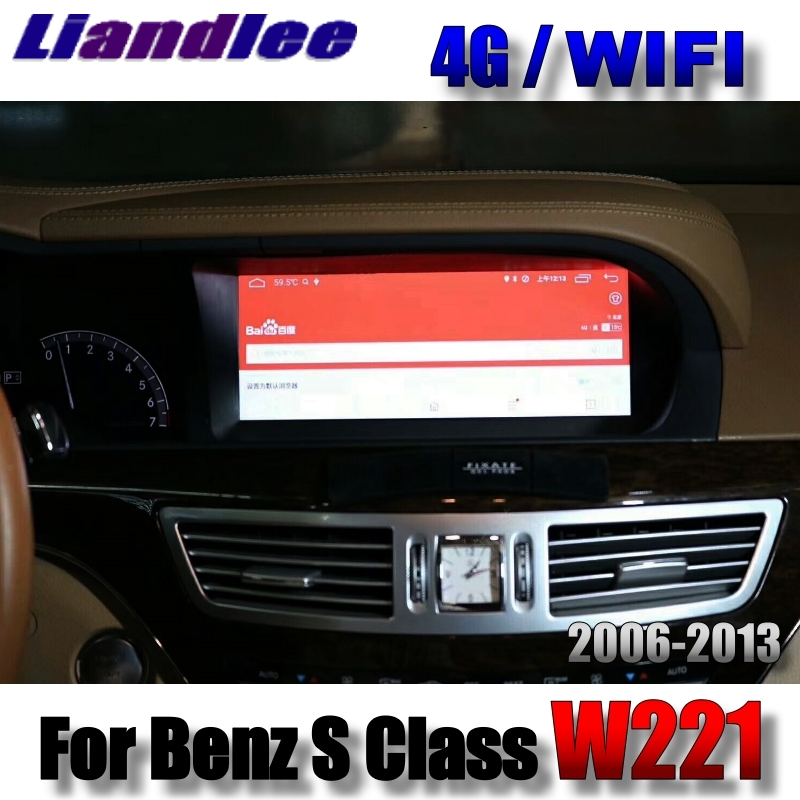 Liandlee Car Multimedia Player NAVI For Mercedes Benz S W221 S280 S320 S400 S600 S63 2006~2013 Accessories Radio GPS Navigation 4