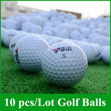 INSTOCK 10 Pieces/Lot Golf Match Ball Three Layers High-Grade Golf Ball Wholesale Manufacturer Direct Promotion Golf Balls