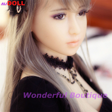 European Lady 165cm Real TPE Silicone Sex Doll For Men Real Size Solid Silicone Sex Toy With Tits Oral Ass Vagina Free Shipping