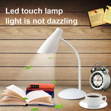 touch switch of high quality intensity adjustable usb rechargeable led table lamp desk light reading new light guide technology