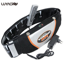 Sauna Heating Vibrating Belt.Slimming Massager Belts.Massage Flex Chinelo Vibro Shape Slender Fat Burning Waist Belt Weight Loss(China)