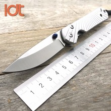 LDT Starbenza Folding Knife D2 Blade Steel Handle Survival Hunting Outdoor Knives Military Pocket Tactical Knife EDC Tool