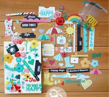 DIY creative Cardstock designer Titles,tags&Quotes scrapbooking pages/greeting card SD Die-Cut PACK frames/stickers papercrafts