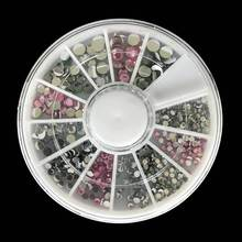 1PCS 3D Nail Tips Decoration For Manicure Nail Design Supplies Glitter Crystal UV Gel Polish Decorations For Nail Art Equipment