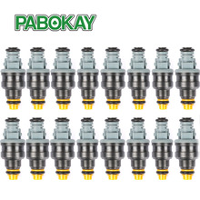 16 pieces x High performance 1600cc 152lb/hr-160lb/hr CNG fuel injector 0280150842 0280150846 for ford racing car truck(China)