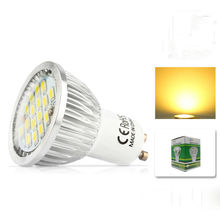 1x 100% Quality Assurance GU10 700lm 11W SMD 2835 16LED Light Bulb Warm White Cold White AC 220V LED Spot Aluminum lamp cup(China)