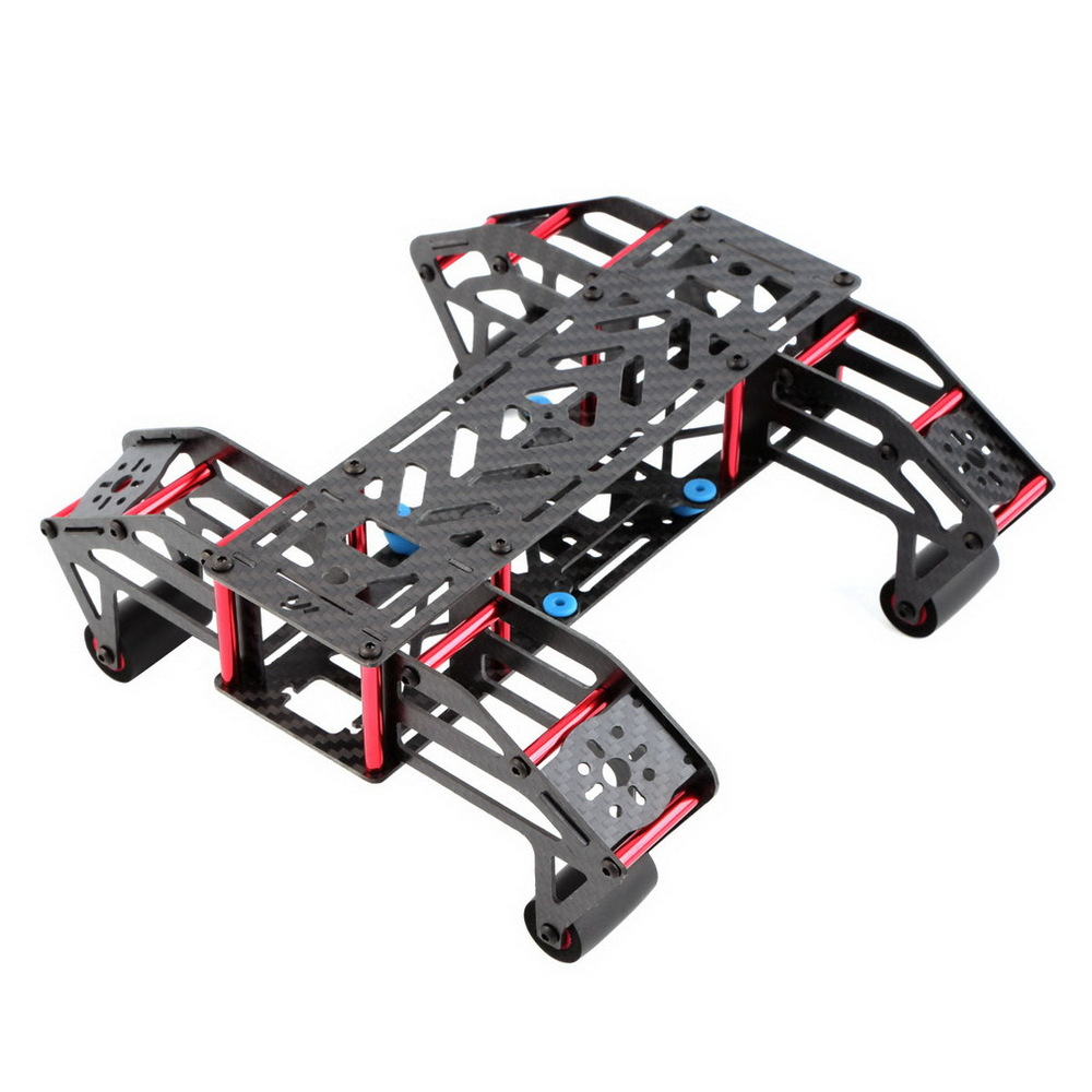 M250-C30 reptile shaped rack through a rack containing 250 four-axis damping plate (carbon fiber)<br>