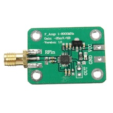 1PC 1-8000MHz AD8318 RF Logarithmic Detector 70dB RSSI Measurement Power Meter Module Board New Wholesale