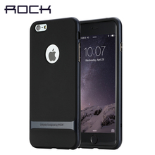 Original ROCK Case For Apple iPhone 7 6 6s case 2016 New hybrid PC TPU Back Cover For iPhone 7 6s plus cases With retail box(China)