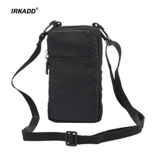 IRKADD SPORTS Universal Wallet Bag for iphone6 7 Plus Climbing Portable Case for iPhone 6s mobile phone Shoulder bag holster(China)
