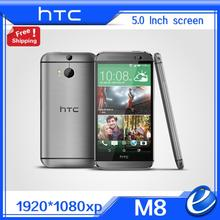 "Original HTC One M8 Unlocked GSM 3G 4G 3 Cameras Android 5.0 Quad core RAM 2GB 32GB Mobile Phone 5.0"" 4MP refurbished EU ver"