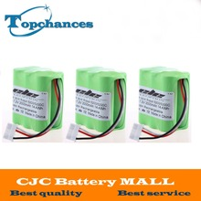 High Quality 3PCS Top Sale 7.2V 2000mAh Vacuum Cleaner Rechargeable Battery For Mint 5200 5200C Free Shipping(China)