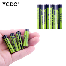 4pc/lot AAA 1000mAh 1.2 V Quanlity Rechargeable Battery NI-MH 1.2V Rechargeable 1A Battery Baterias Bateria With battery Case