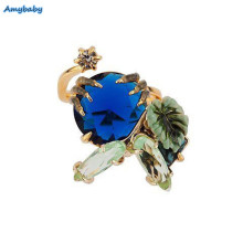2017 New Arrival Amybaby Les Nereides Ostentatious Obscurity Dinosaur's Claws And Stone Womens Adjustable Ring Jewelry