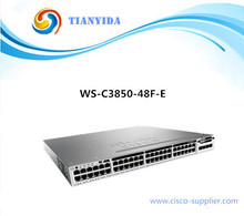 WS-C3850-48F-E Managed Switches 48 Port Gigabit Switch In Networking