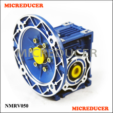 China ISO9001 Certificate NMRV050 Series Right Angle Speed Gearbox for Machine(China)