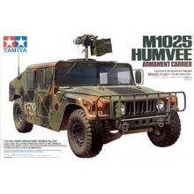 OHS Tamiya 35263 1/35 M1025 Humvee Armament Carrier Military Assembly AFV Model Building Kits