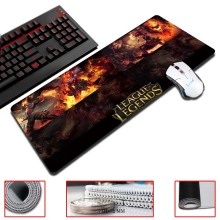 Super Locking Edge large Game Mouse Pad 30x60cm high quality League lol pictures super big size computer game tablet mouse pad