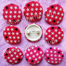 200PCS/LOT,3cm(1.2 inch),Pink star badge,Cloth pins,Students reward,Fashion button,Cute brooches,Team logo,Goody bag.Wholesale