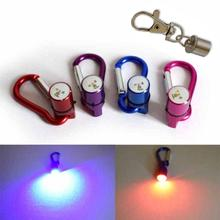 Waterproof LED Flash Pendant Light Pet Dog Cat Safety Blinker Night Collar Tags 19*11MM Pet Product #TX5(China)