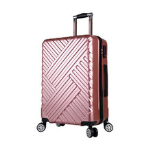 Hardside Rolling Luggage Suitcase 20in 24in Checked Luggage Aluminum Frame PC Luggage Travel Trolley Suitcase Wheels LGX16(China)