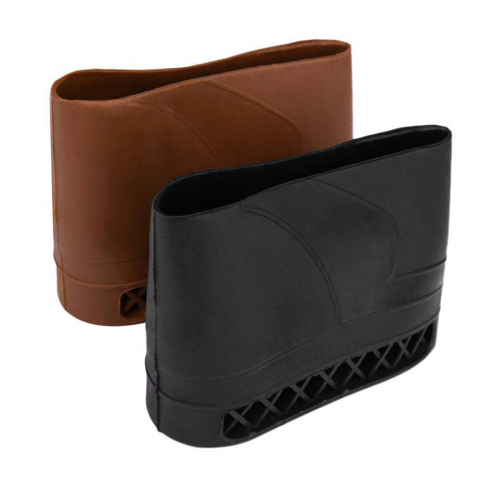 Rubber Recoil Pad Slip-On Pad Buttstock Protector Gun Accessories Black Tan