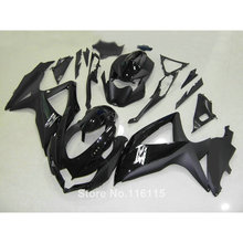Fairing kit for SUZUKI K8 GSXR 600 700 2008 2009 2010 Injection molding all glossy black GSXR600 GSXR750 08 09 10 fairings VQ49(China)