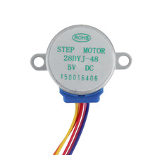 1pcs Wholesale 28BYJ-48 Lead 25cm Stepper Motor DC 5V 4 Phase Step Motor Reduction Drop Shipping