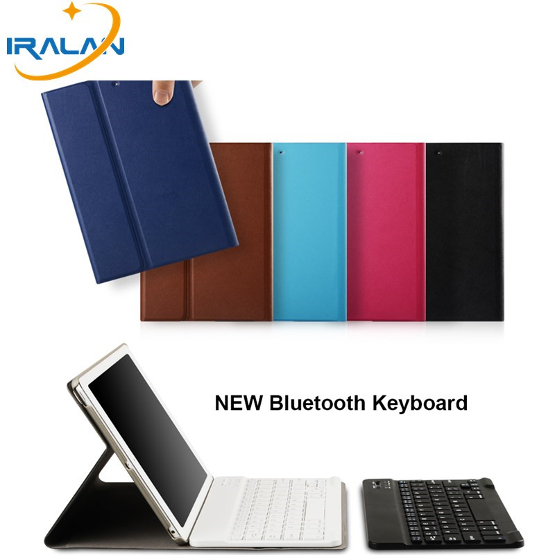 2017 new For iPad Pro 10.5 Keyboard Case, Ultra-thin Detachable Bluetooth Keyboard +stylus+film<br>