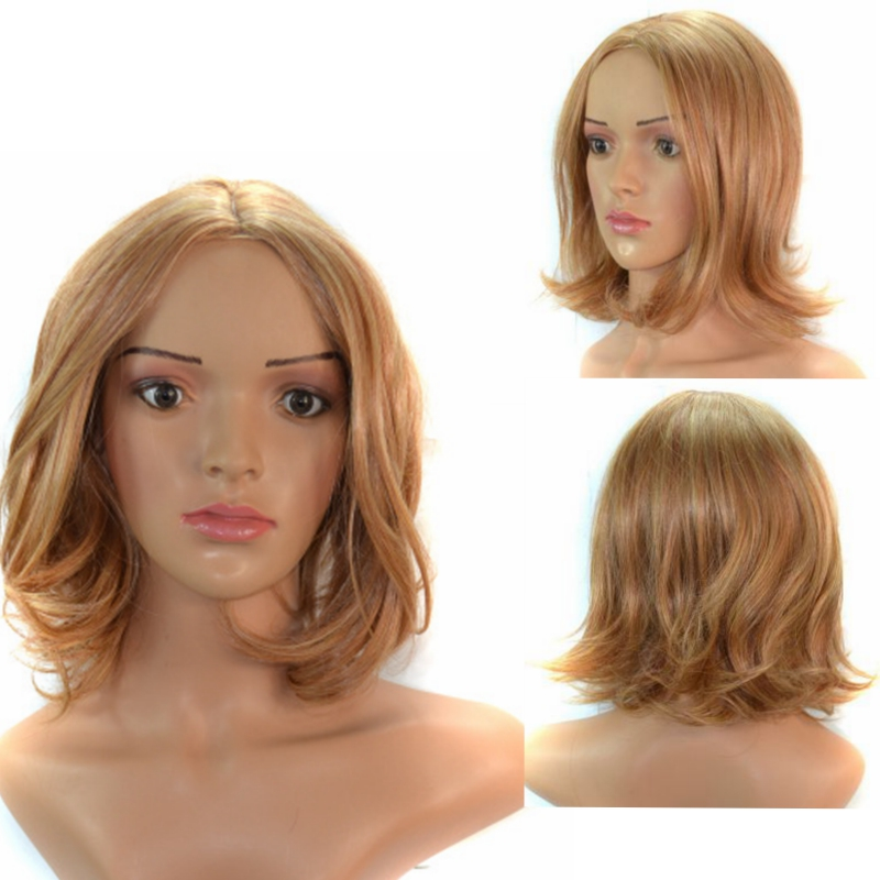 beauty Wig WW2-03#  SMALL CURL WIG heat resistant synthetic wig free cap &amp; clip &amp; comb blonde wig<br><br>Aliexpress