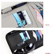 Car CD/DVD BagCar CD Holder Sun-Shading Board Car CD Clip For LEXUS RX300 RX330 RX350 IS250 LX570 is200 is300 ls400(China)