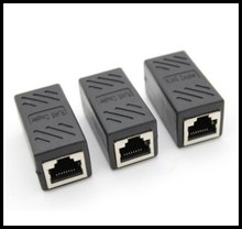 FreeshippingFerr  CAT6 RJ45 Female to Female Lan Connector Ethernet Network Cable Extension coupler Adapter With Shield