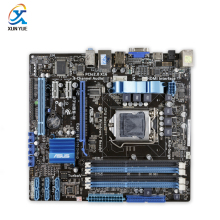 P7H55-M Original Used Desktop Motherboard Intel H55 Socket LGA 1156 i3 i5 i7 DDR3 16G uATX On Sale