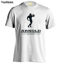 Arnold Series Logo Mens & Womens Baseball T Shirt Printing Custom Tee