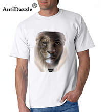 Antidazzle Free shipping sprot man t shirt Cartoon LeBron James  Lion   Design t shirt jersey s loose best men 6562658e8ff44