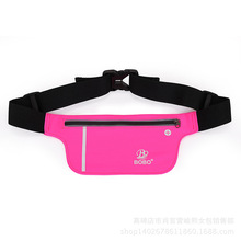 Nylon Waist bag pouch female Fanny Pack male multifunctional invisible Purse Wallet pocket change key