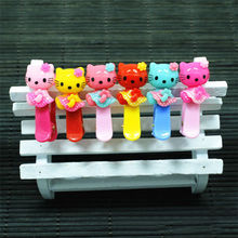 Girls Hairpins Kids Hair Accessories Hello Kitty Hair Clips Fashion Cute Barrettes Girl Headwear Jewelry Accessory Cute Hairpin