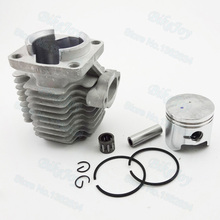 40mm Cylinder Piston Kit 10mm Pin for 47cc 2 Stroke Mini Moto Dirt Pocket Bike ATV Quad Minimoto Go Kart Scooter Motorcycle