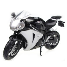 1:12 Scale Model Motorcycle CBR1000RR Diecast & ABS Alloy Motorbike Model Toys Turnable Steering Wheel Boys Toy Car Kid Juguetes(China)