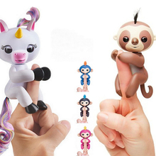 Monkey Unicorn Magic Surprise Toy Interactive Baby Finger Monkey Toys Art For Kids Christmas Decorations For Home