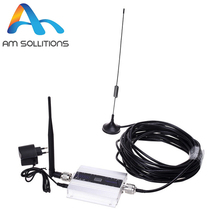 LCD GSM signal booster 900MHz repeater mini 2G cell phone Amplifier kit with Antenna