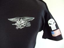 US NAVY SEAL T shirt Men SPECIAL FORCES MARINE CORP TEAM 6 casual tee 100% cotton USA Size S-3XL - Custom Tee Shirt store